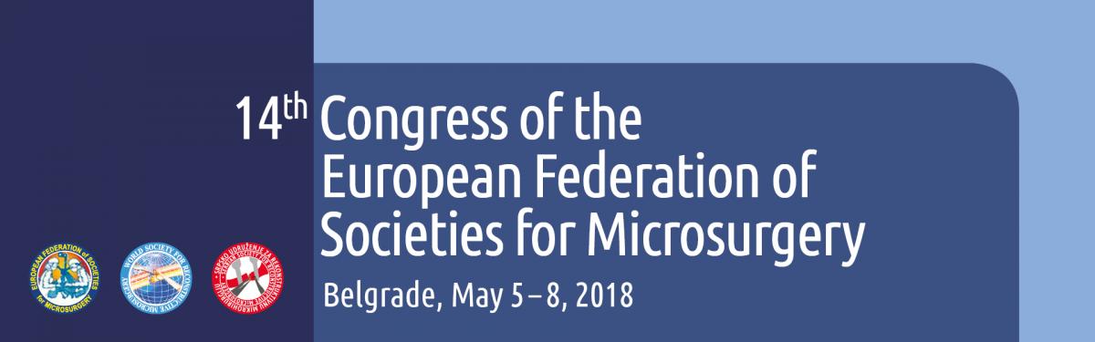 14. kongres Evropske federacije društava mikrohirurgije